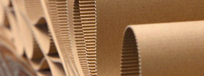 scatole in cartone ondulato kraft e avana