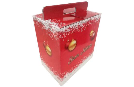 Scatole per confezioni regalo in cartone bianco e avana