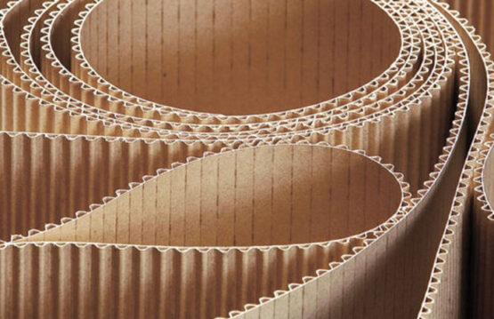 Fogli in cartone ondulato per proteggere i prodotti
