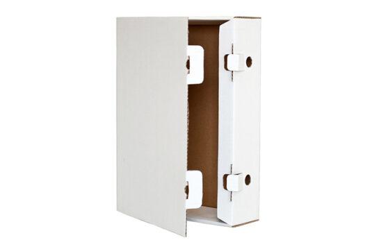 Scatole di cartone formato A4 per conservare i documenti