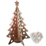 Albero completo con palline di Natale