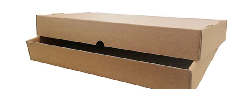 scatole per negozi di abiti in cartone ondulato