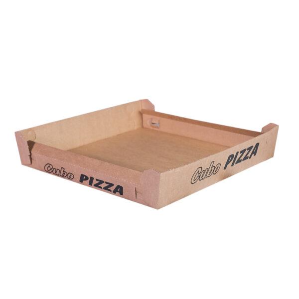 Cubo porta pizza formato classico avana