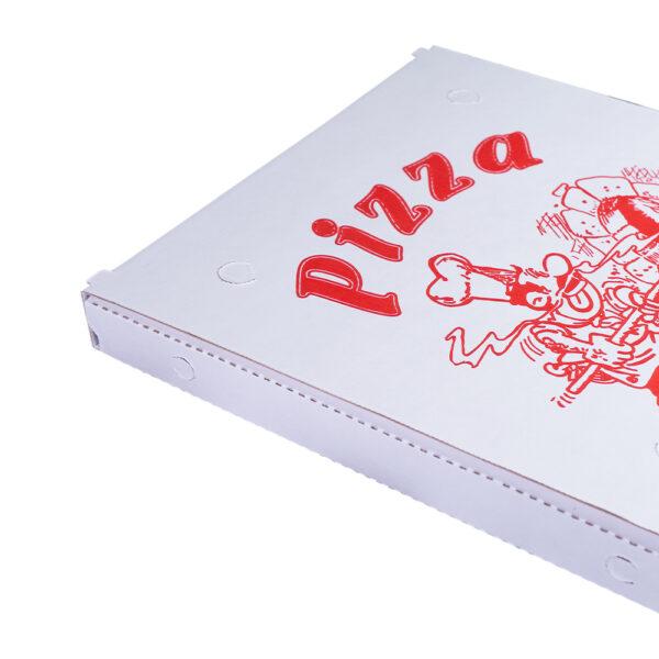 Scatola per pizza formato classico bianco