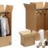 scatole per spedire abiti