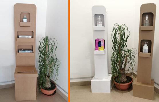 Acquistate colonnine per igienizzanti e dispositivi di protezione individuale online su Weboxes